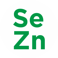Selenium and zinc